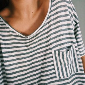 Striped Aerie Tee!!